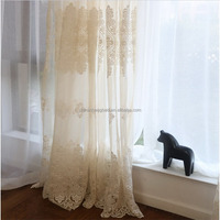 China supplier quality imported french lace sheer curtains