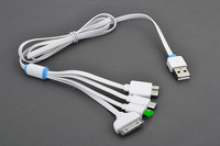 2015 hot usb gift set 4 in1 usb multi charger data cable, communication dataing and charging