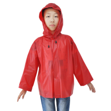 Kids Raincoat And Poncho pvc Children Rain Coat