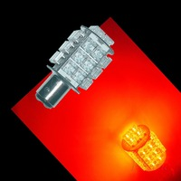 1157 Bay15D RED MOTORCYCLE & AUTOMOBILE LED TAIL STOP LIGHT BULB