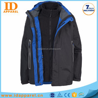 zip off sleeve jacket stylish , 3 in 1 removable sleeve jacket winter