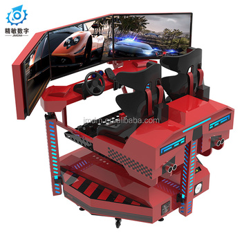 3d Video Game F1 car racing 9D VR Platform enviorment effect vr driving game
