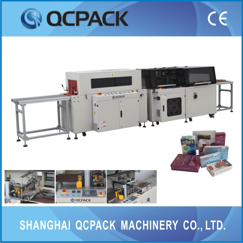 Redundant film resection carpet shrink wrapping machine