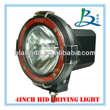 Factory price!! 4'' 55w HID Off Road Driving Light,hid xenon driving light for truck 4x4 4 wheel