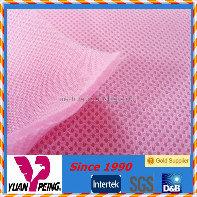 150 denier poly 3mm thickness 3d mesh fabric raw material of shoes