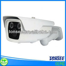 Long Range Waterproof IR 2.8-12mm Manual Zoom Lens Outdoor two lights infrared led array camera