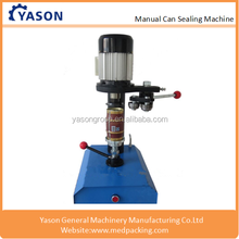 Manually Paper Plastic Pot Metal Cans Sealing Machine,Tin Can Capping Machine