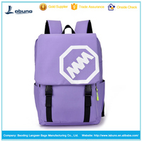 wholesale canvas backpack new fashion funny high school backpacks 2016