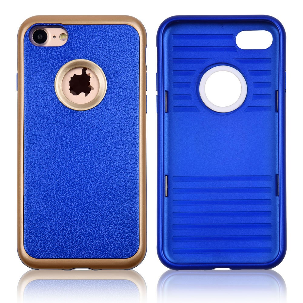 C&T Shockproof Phone Cover Leather Stylish TPU Hard PC Bumper Armor Case for iPhone 7