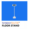 Tablet Display Floor Stand Display Tablet