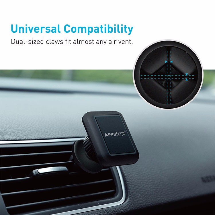360 degree car air vent magnetic mobile phone holder for Galaxy S7 S6 Edge Note 5 4