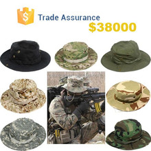 Men's Boonie Hiking Fishing Snap Brim Army Military Neck Cover Flap Bucket Sun Hat Cap
