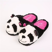 Quality-Assured Sell Well Home Plush Animal Slippers For Kids