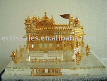 crystal golden temple