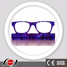 JZ3117 High quality transparent blue pattern acetate plastic sheet for craft art