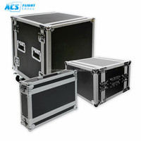 ACS New Model Cheapest customized 18U 19 Inch standard Rack Flight Case