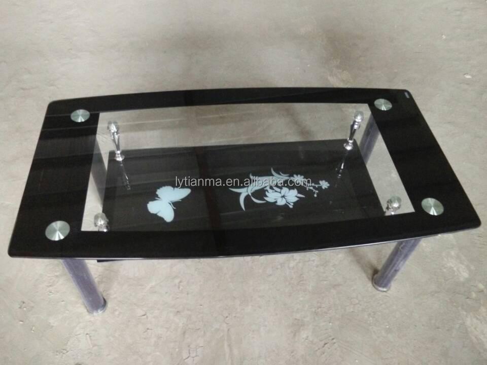 Modern Design Glass Centre Table