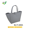 High Quality Muanufacture Sell PP Woven Hand Plaid Bag