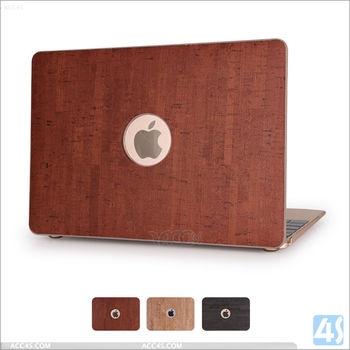 For apple mac laptop case, for Macbook case Air 12'', for New Macbook Air 12'' wooden hard cover case