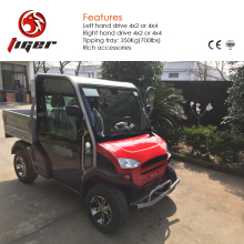 For light duty transportation long driving range electric cargo vehicle 4X4