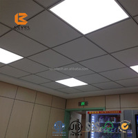Acoustic Fiberglass Ceiling Tile Sound Absorbing Baffle Board