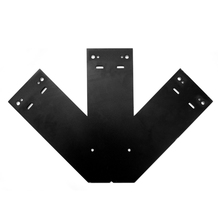 steel L timber plate bracket metal joinery hardware