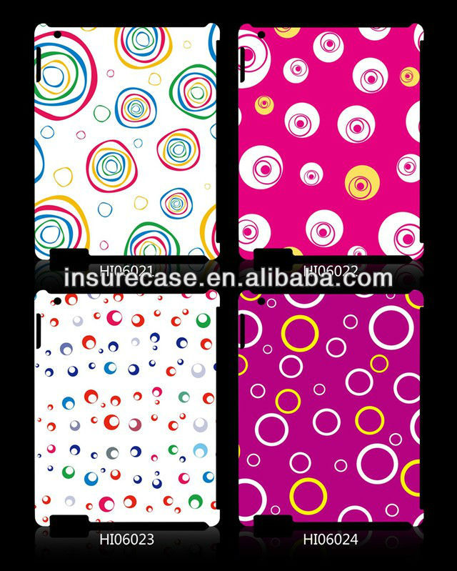 Lovely Custom bubble print tablet case for ipad 2, for ipad 2 3 4 cases cover, for ipad accessories