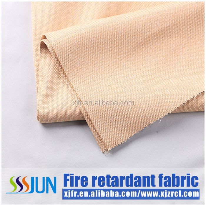 HLHT free sample available solid color blackout curtain faux suede curtain and anti uv and anti static fabric for curtains