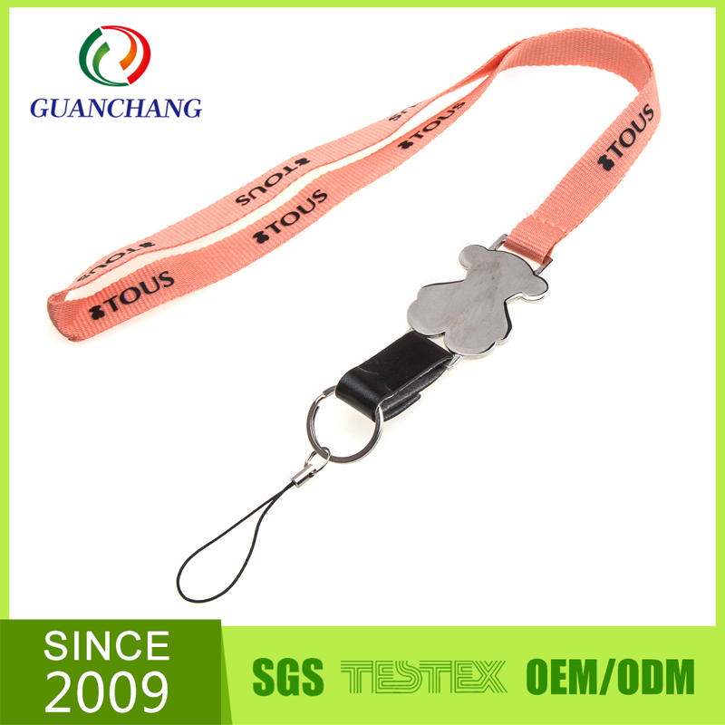 promotional gifts mobile phone tube rope neck lanyard custom for iphone 6 case