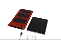 5v 5w 1A small mono folding solar panel kit for phones