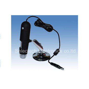 SE-M400 Most popular USB digital microscope 400X 1.3 mega pixel with measurement software and 8 LED lights
