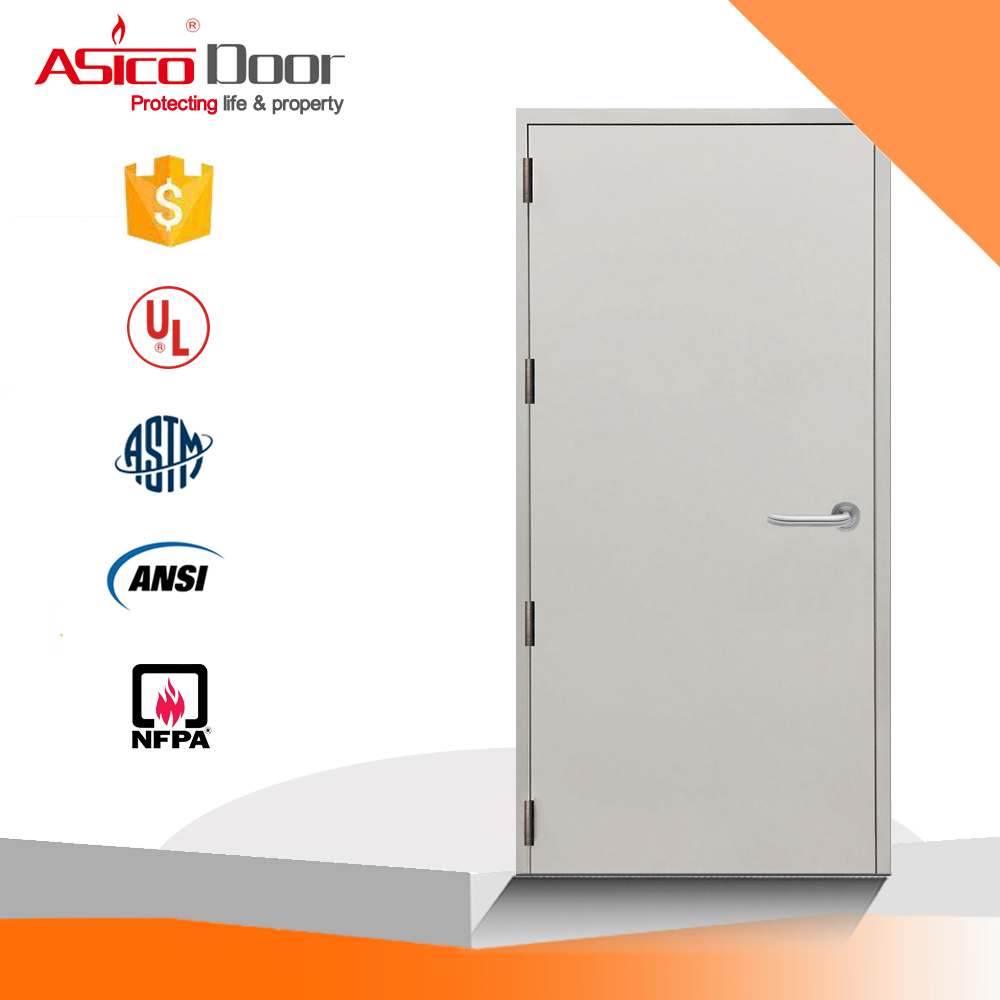 ASICO Single Leaf Security Stainless Steel Soundproof Acoustic Door For Exterior