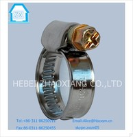 The cross screw Stainless steel hose Clamps German Type Hose Clamps