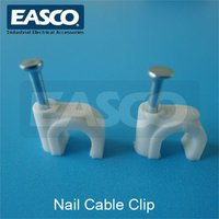 EASCO Double Plastic Cable Clips