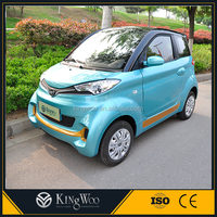 ECO friendly electric car Green vehicle automobile