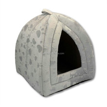 Warm Plain Color Luxury Dog Bed Pet House