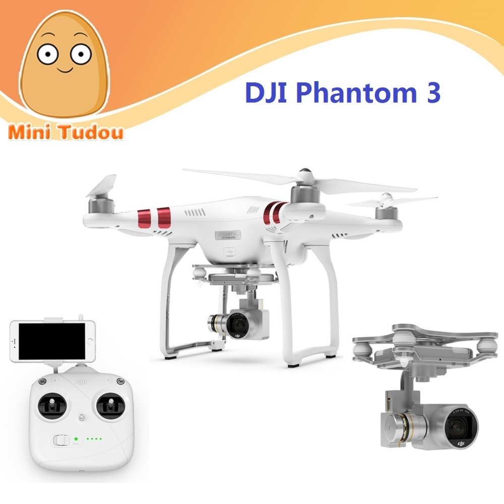 Mini Tudou Hot Sell Follow Me Helicopter Product Professional Quadcopter DJI Original Dron Phantom 3 Standard Drone