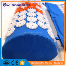 Therapeutic massage acupressure mat and pillow set