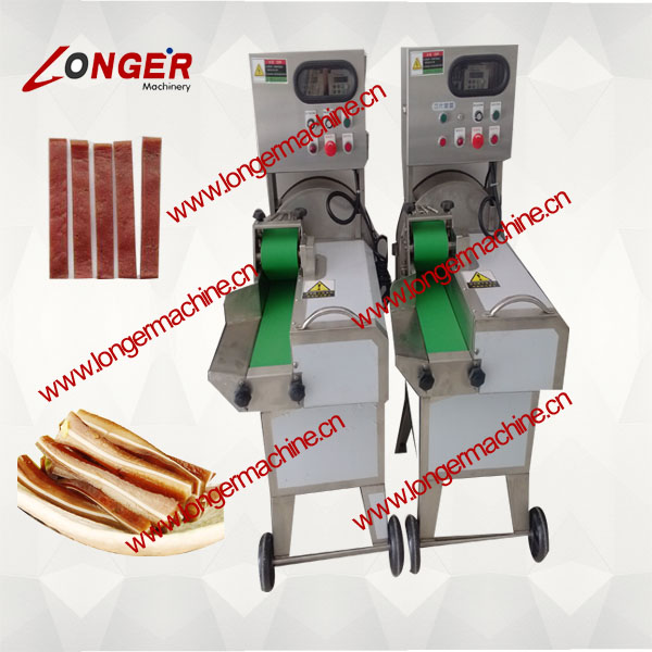 Cooked Beef Slicing Machine|Pig's Intestines Slicer Machine|Barbecued pork Cutting Machine