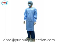 Hot SALE disposable SMS surgical gown