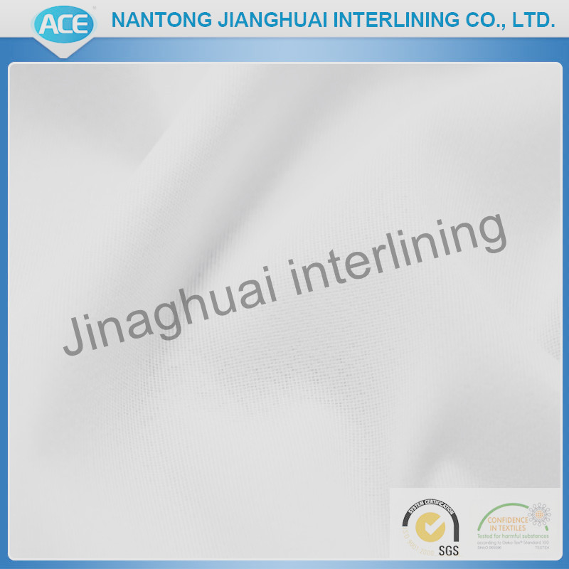 LDPE glue Tricot knitted fusible interlining
