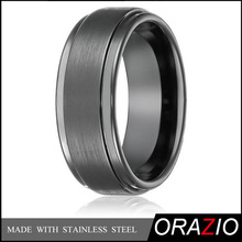 2016 New Style Hot Selling Mens Matte Pulished Tungsten Fashion Jewelry