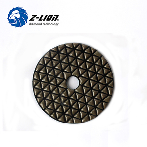 Zlion flexible diamond wet polishing pads China supplier