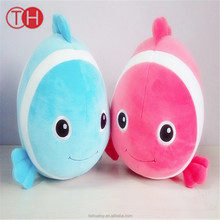 Colorful Fish Plush Toy Stuffed Doll