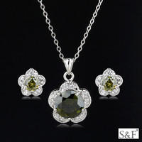 q0852212 wholesale fashion jewelry distributors beautiful jewelry set