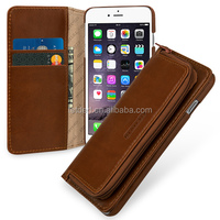 TETDED Premium Luxury Leather Flip Cover Case for iPhone 6S