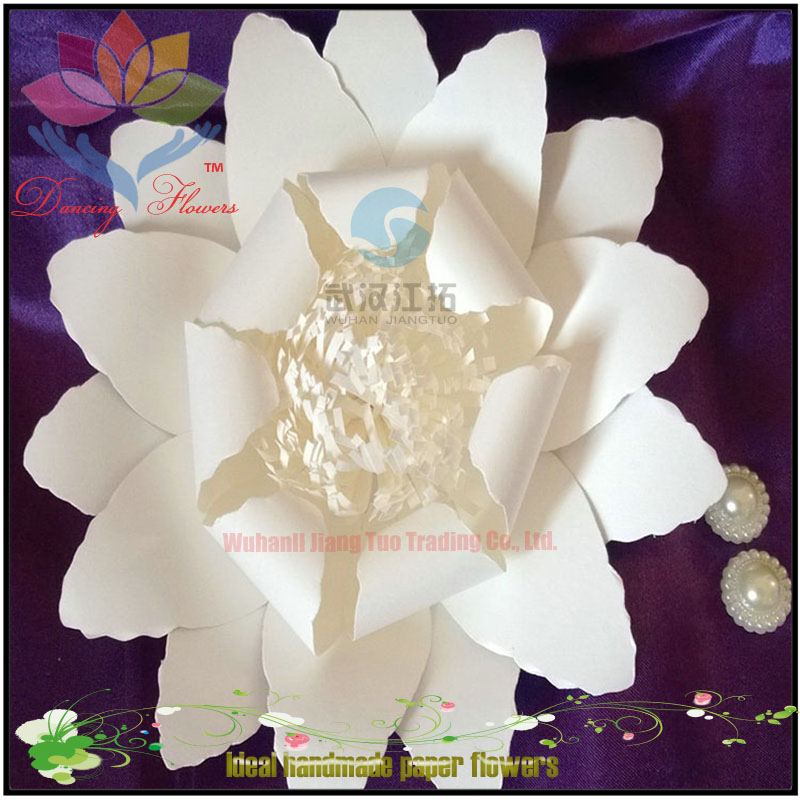 2017 hight quality new products hot sale hand craft paper flower for promotion shop
