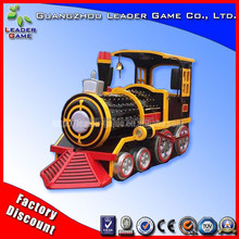 Designer Small train outdoor lighted trains christma shot selling kids coin game machine