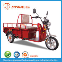 Green powerful 500-2000w 48-60v 20ah-40ah adult electric cargo tricycle