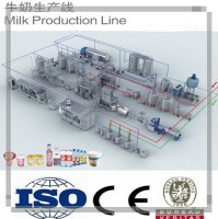 Complete Small Milk Processing Machinery Plant/milk machine